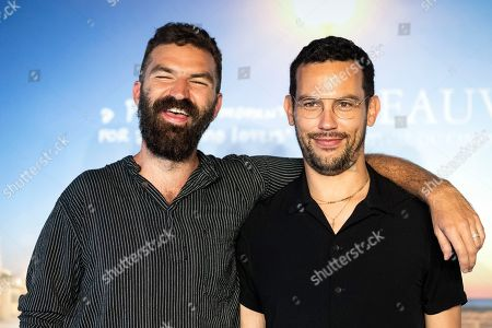 US director Jeremiah Zagar (L) and US novelist Justin Torres pose for the photographers during the photocall for 'We The Animals' during the 44th Deauville American Film Festival, in Deauville, France, 05 September 2018. The festival runs from August 31 to September 11.