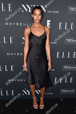 Editorial photo of E! Entertainment, Elle and IMG Kick-Off Party, Arrivals, Spring Summer 2019, New York Fashion Week, USA - 05 Sep 2018