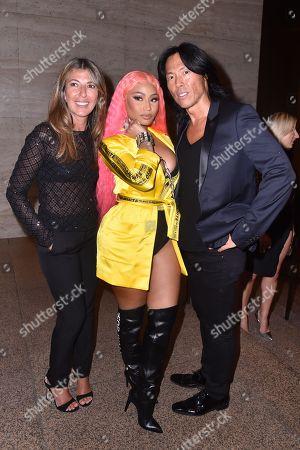 Nina Garcia, Nicki Minaj, Stephen Gan