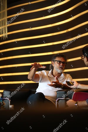 Rakeysh Omprakash Mehra during the promotion of his upcoming movie Fanney Khan at Le Meridien hotel