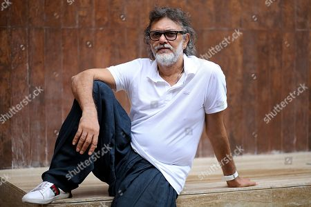 Stock Image of Rakeysh Omprakash Mehra during the promotion of his upcoming movie Fanney Khan at Le Meridien hotel