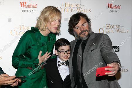 Cate Blanchett, Owen Vaccaro and Jack Black