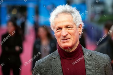 US producer and director Marc Turtletaub arrives on the red carpet prior to the premiere of 'Adrift' during the 44th Deauville American Film Festival, in Deauville, France