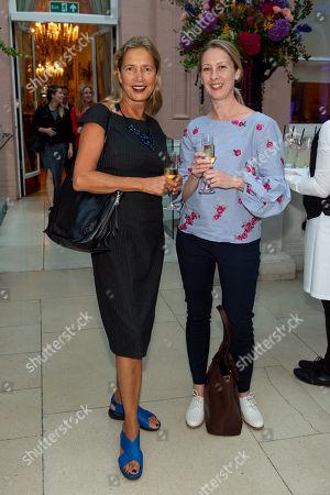 Stock Photo of Iwona Blazwick and Nadine Thompson