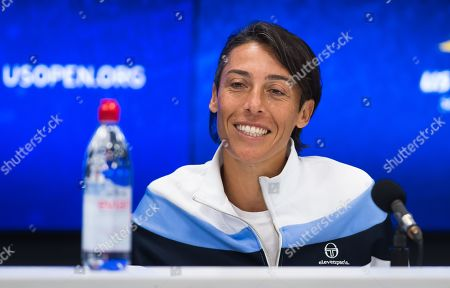 Stock Photo of Francesca Schiavone of Italy announces her retirement from tennis