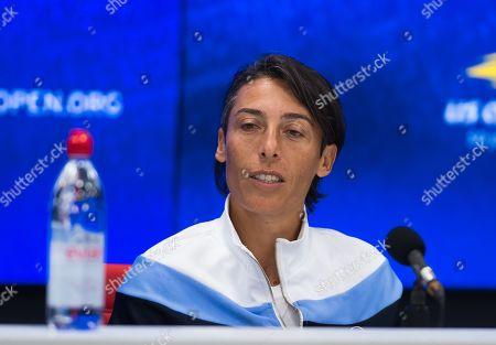 Stock Picture of Francesca Schiavone of Italy announces her retirement from tennis