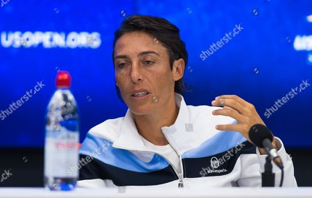 Francesca Schiavone of Italy announces her retirement from tennis