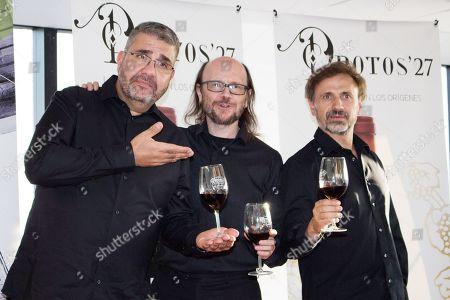 Santiago Segura, Florentino Fernandez and Jose Mota