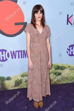 "Rachel Melvin attends the LA Premiere of ""Kidding ""at ArcLight Hollywood, in Los Angeles"