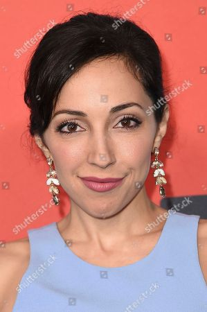 """Stock Image of Yvette Gonzalez Nacer attends the LA Premiere of """"Kidding """"at ArcLight Hollywood, in Los Angeles"""