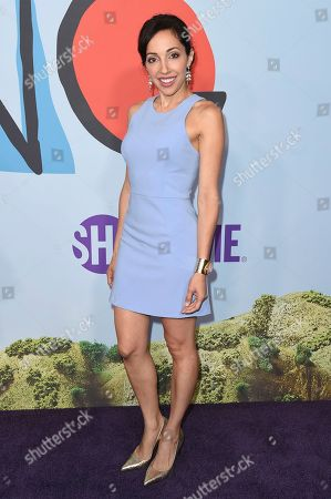 """Yvette Gonzalez Nacer attends the LA Premiere of """"Kidding """"at ArcLight Hollywood, in Los Angeles"""