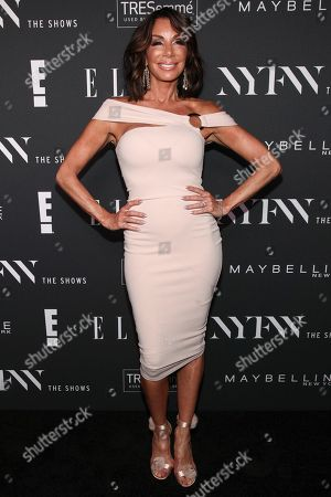 Danielle Staub attends the NYFW Spring/Summer 2019 Kick-Off Party at The Pool, in New York