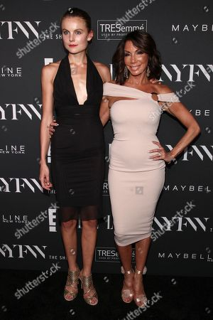 Christine Staub, Danielle Staub. Christine Staub, left, and Danielle Staub, right, attend the NYFW Spring/Summer 2019 Kick-Off Party at The Pool, in New York