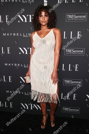 Marquita Pring attends the NYFW Spring/Summer 2019 Kick-Off Party at The Pool, in New York