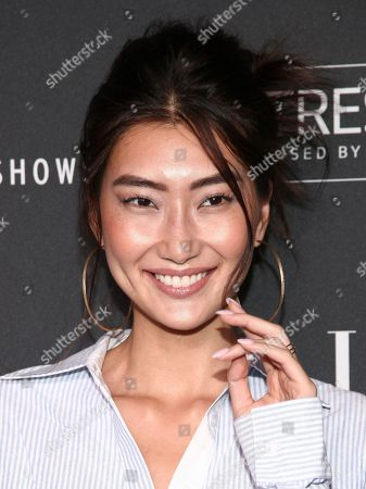 Ping Hue attends the NYFW Spring/Summer 2019 Kick-Off Party at The Pool, in New York