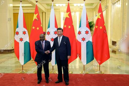 Editorial picture of Congo, Beijing, China - 06 Sep 2018