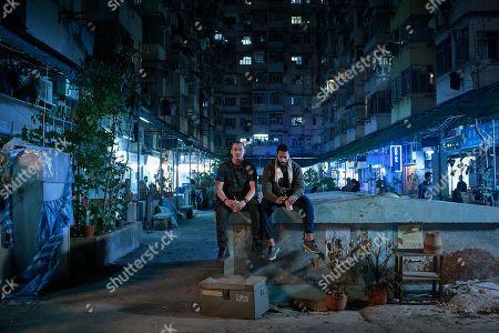 Jason Wong as Kai Huang and Ryan McKen as Faraz Reza.