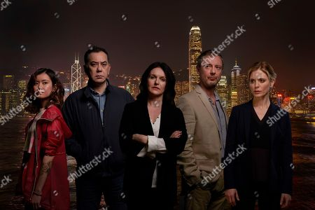 John Simm as Jonah Mulray, Anthony Wong as David Chen, Emilia Fox as Sally Porter, Katie Leung as Lau Chen and Dervla Kirwan as Megan Harris.