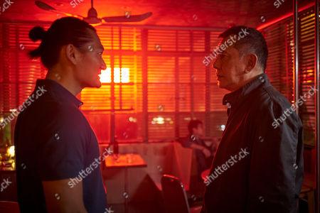 Anthony Wong as David Chen and Thomas Chaanhing as Felix Chong.