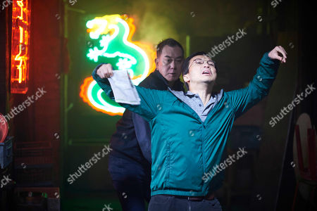 Anthony Wong as David Chen, Tom Wu as Daniel Tsui.