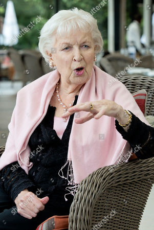 Actress Dame June Whitfield.