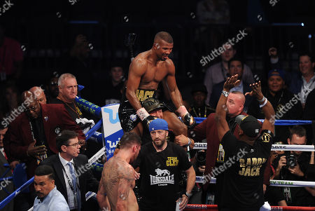 Editorial image of Nathan Cleverly V Badou Jack. 26/08/17: Picture Kevin Quigley/daily Mail.
