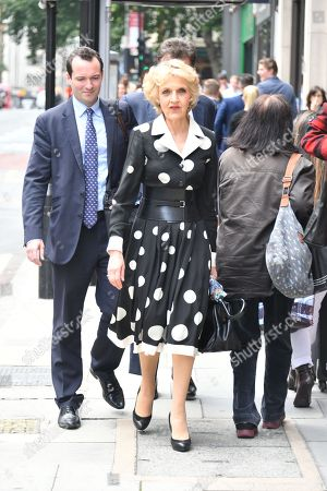 Baroness Fiona Shackleton Lawyer Of Petra Ecclestone Arrives At The Family Court In London For A Hearing To Do With Her Divorce From Alleged Billionaire James Stunt