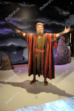 Waxwork of Charlton Heston