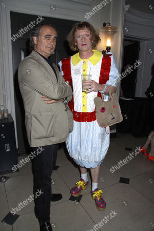 Grayson Perry and photographer Dave Benett
