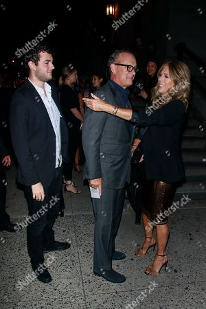 Tom Hanks, Rita Wilson, Truman Theodore Hanks