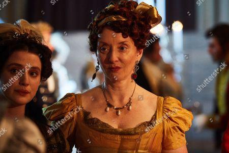 Elizabeth Berrington as Lady Bareacres.