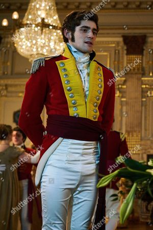 Charlie Rowe as George Osborne.