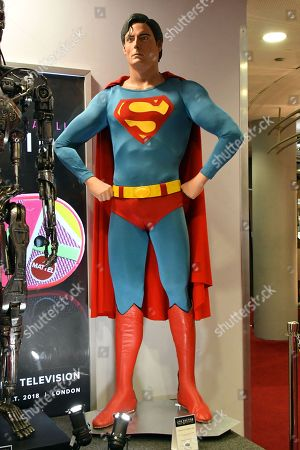 Superman Costume Display, played by Christopher Reeve, from Superman (1978, Superman II (1980). Estimate £60,000-£80,000