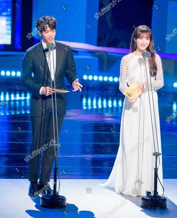 Jasper Liu and Jung Hye-Sung