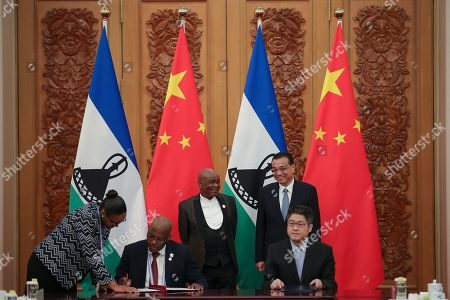 Editorial picture of Prime Minister Of Lesotho Visits China, Beijing - 06 Sep 2018