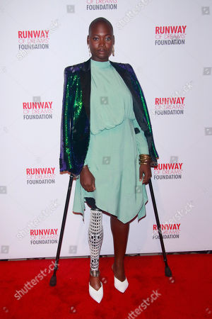 Editorial image of Runway of Dreams show, Arrivals, New York Fashion Week, USA - 05 Sep 2018