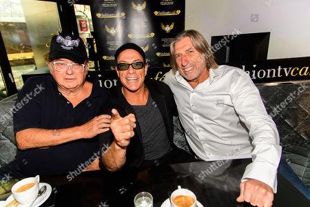 Michel Adam, Jean-Claude Van Damme, Norbert Blecha