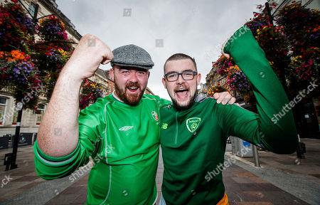 Wales vs Republic of Ireland. Conor Murphy, Navan and Dominic McNamara, Louth