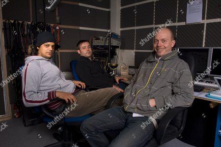 Editorial picture of Aquasky in their studio near Bournemouth, Dorset, Britain - 15 Feb 2008