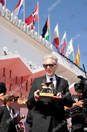 David Cronenberg receives the Life Achievement Award Golden Lion