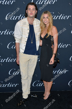 Peter Brant Jr. and guest