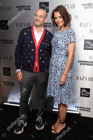 Marc Metrick and Katie Holmes
