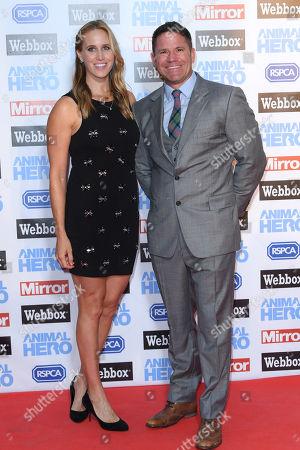 Helen Glover and Steve Backshall