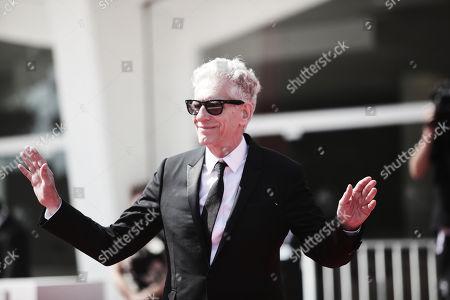 Director David Cronenberg, winner of the Golden Lion for Lifetime Achievement