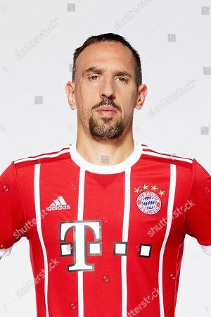 Frank Ribery  PortrÂ?t bei TeamprÂ?sentation des FC Bayern Muenchen fÂ?r die  2017/20188.8.2017 in Allianz Arena in Muenchen.