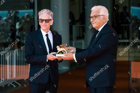 Paolo Baratta and David Cronenberg