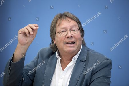 Editorial photo of Aufstehen press conference, Berlin, Germany - 04 Sep 2018