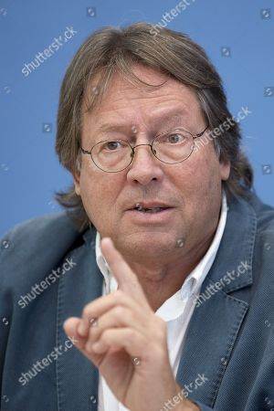 Editorial picture of Aufstehen press conference, Berlin, Germany - 04 Sep 2018