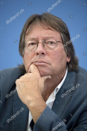 Editorial image of Aufstehen press conference, Berlin, Germany - 04 Sep 2018