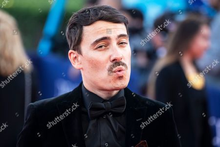 French director Fabien Constant arrives on the red carpet prior to the premiere of 'Here and Now' during the 44th Deauville American Film Festival, in Deauville, France, 06 September 2018. The festival runs from August 31 to September 11.
